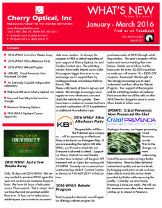 What's New Jan-Mar 2016 -01