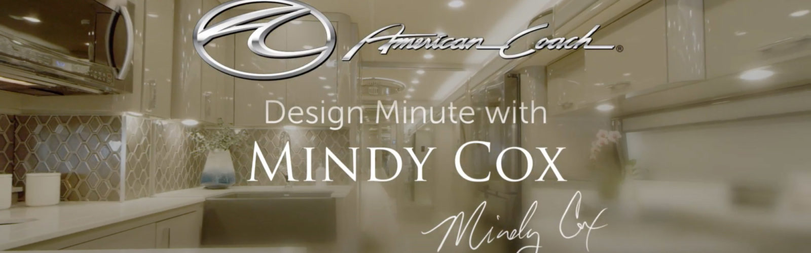 Design Minute with Mindy Cox Episode 2