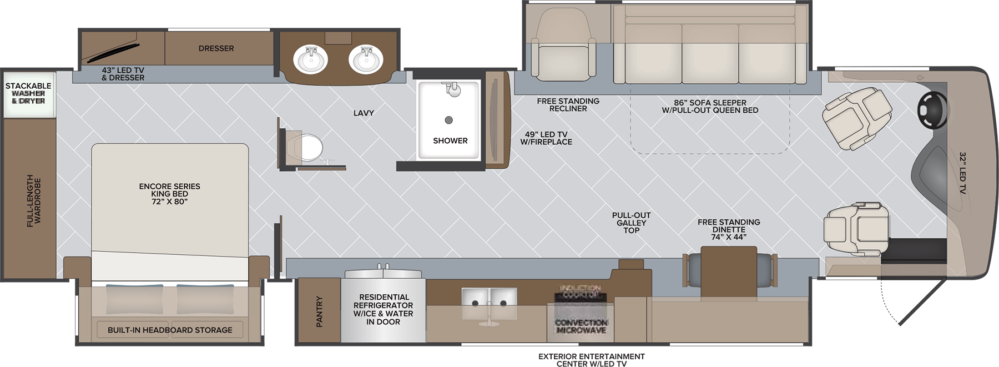 38 F NAVIGATOR MY21 HR floorplan