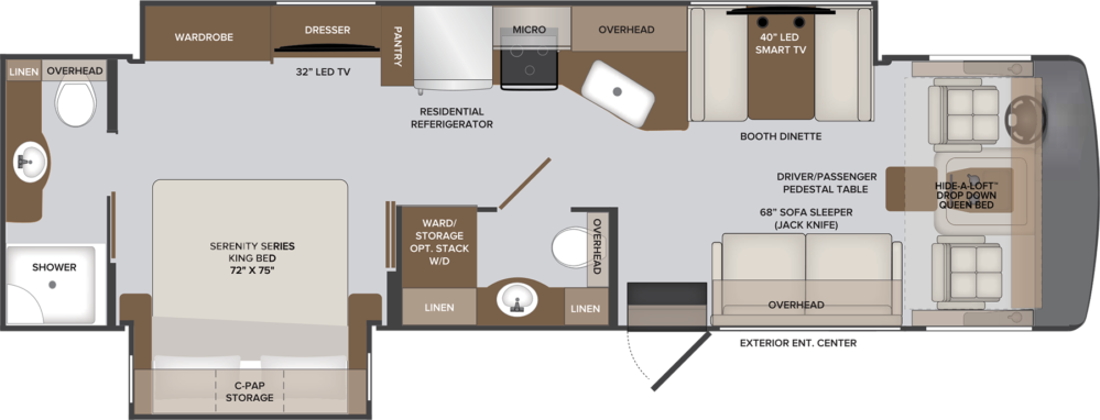 33 HB INVICTA MY21 HR floorplan
