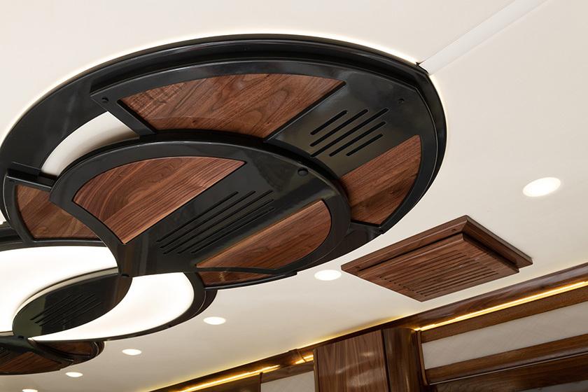 17 ceilingtreatment eagle45k INSPIRATION blkwalnut4969