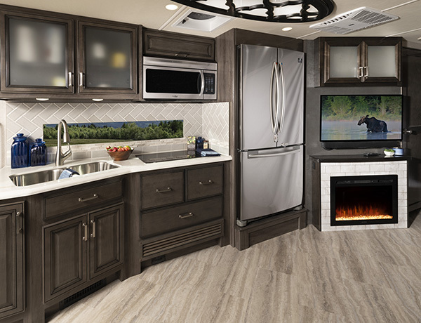 Southwind 35K Peppercorn Decor with Greystone Cabinetry