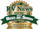 American Coach Eagle Best of Badge