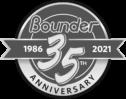 Bounder anniversary logo