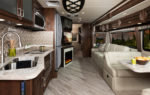 Southwind 34C Parchment Decor with Oxford Cabinetry
