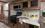 2 galley INTERIOR Fortis 33 HB Outerbanks Eng Chest MY22 7541open