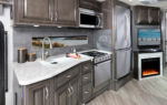 Bounder 35K Quicksilver décor with Greystone cabinetry