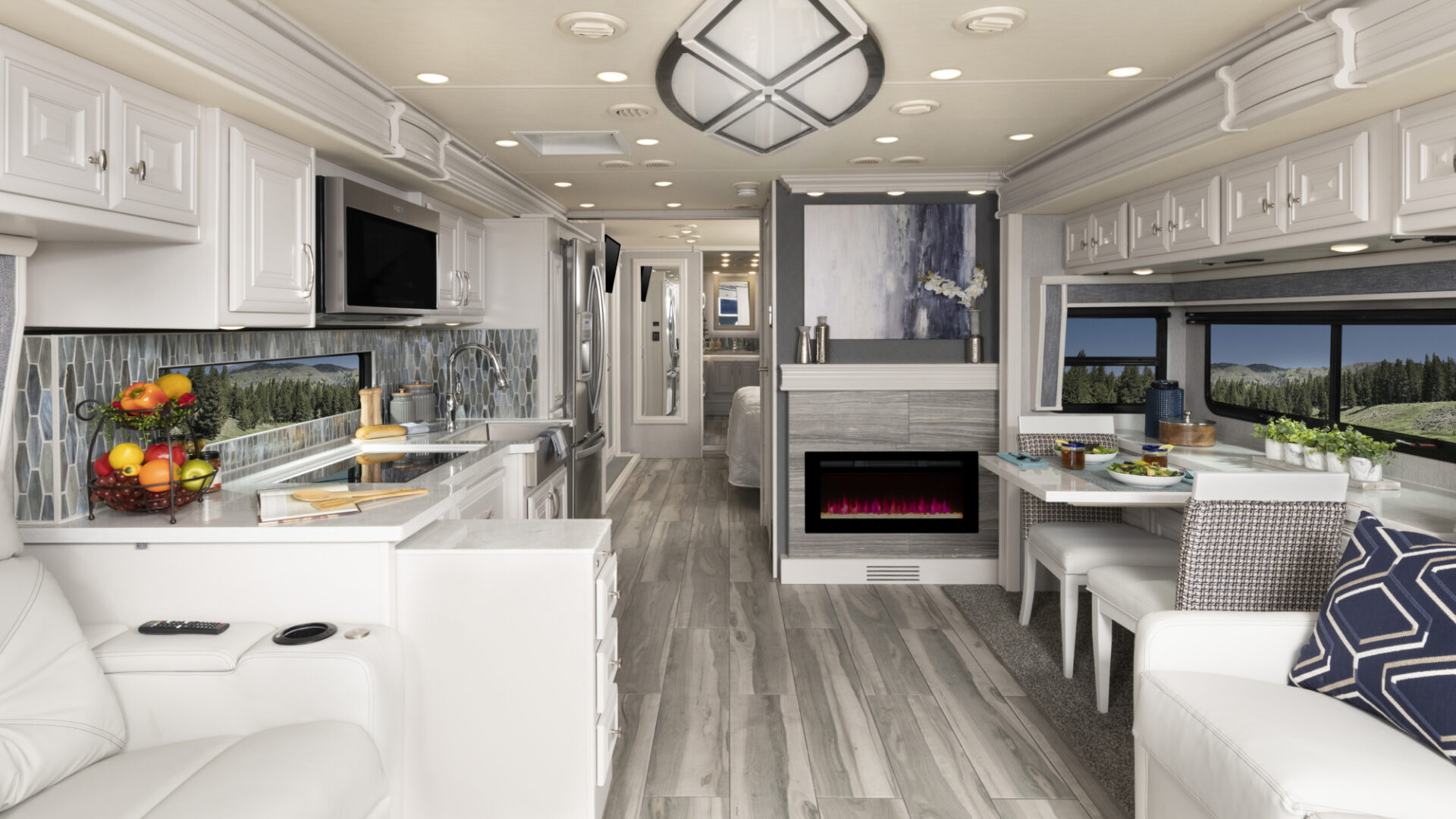 Armada44 LE Waterford Decor with Fossil Cabinetry