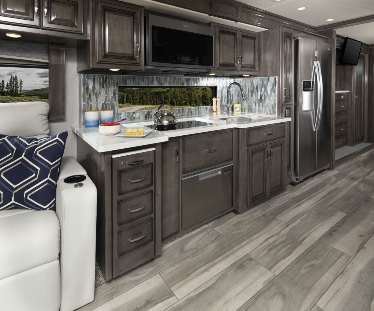 Endeavor 38W Waterford Decor with Whispering Wind Cabinetry