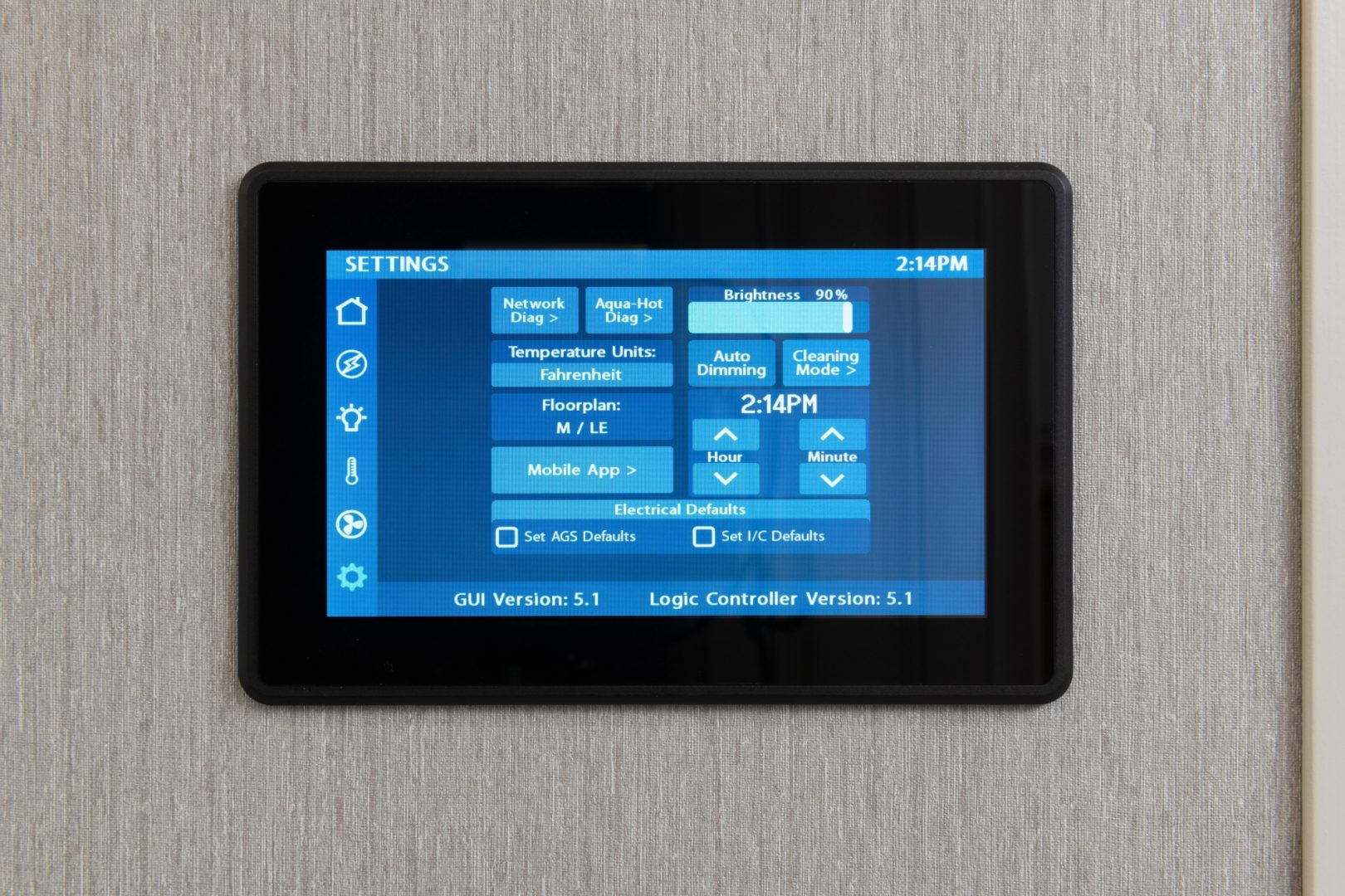 Fire Fly2934 settings