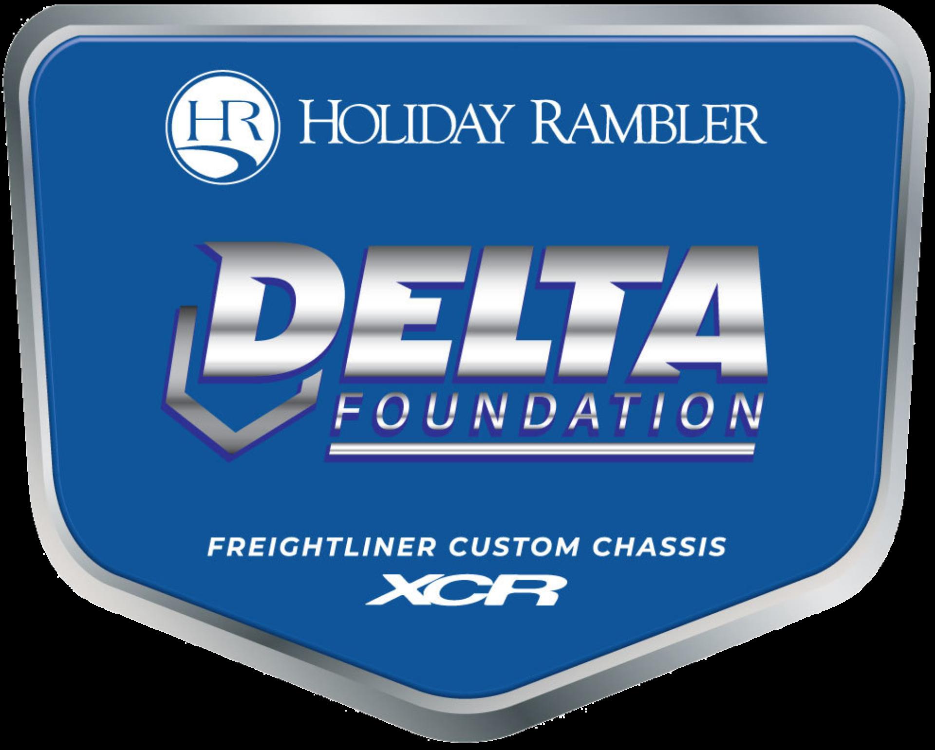 DELTA Foundation Badge XCR