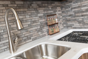Vacationer35P Waterfront Decor with Nutmeg Cabinetry