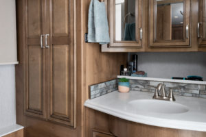 Navigator 38K Reflection Decor with Nutmeg Cabinetry