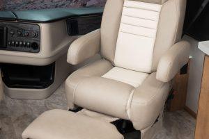 18 Passenger Seat NAV38 K Canvas Bourbon MY22 0474open
