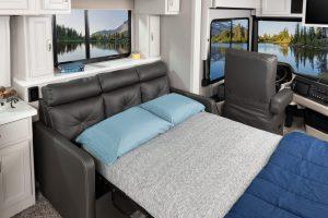 6 sofa BED Endeavor38 W Savan Fossil MY22 8645 open