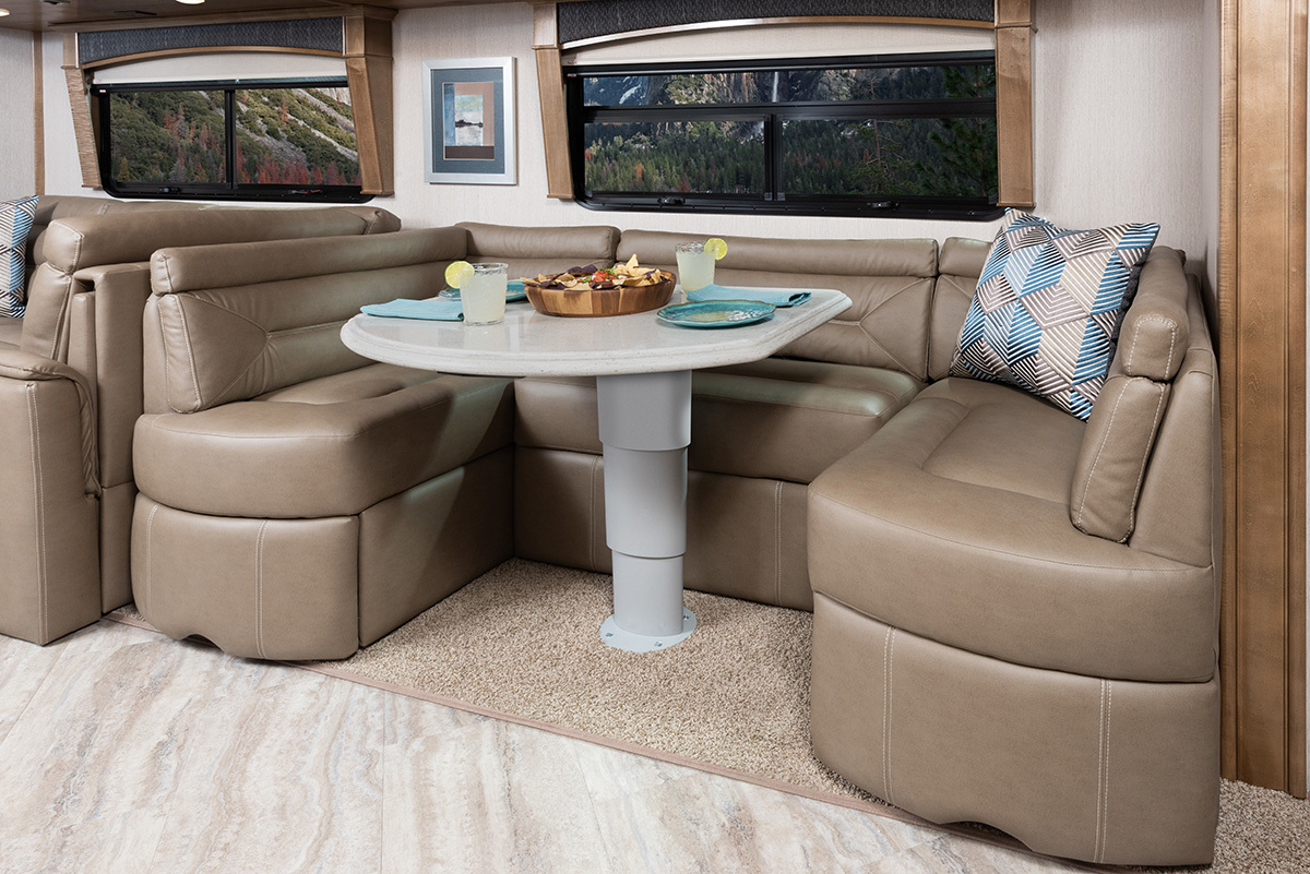 Pace Arrow LXE 38K Mystic Decor with Cappuccino Cabinetry