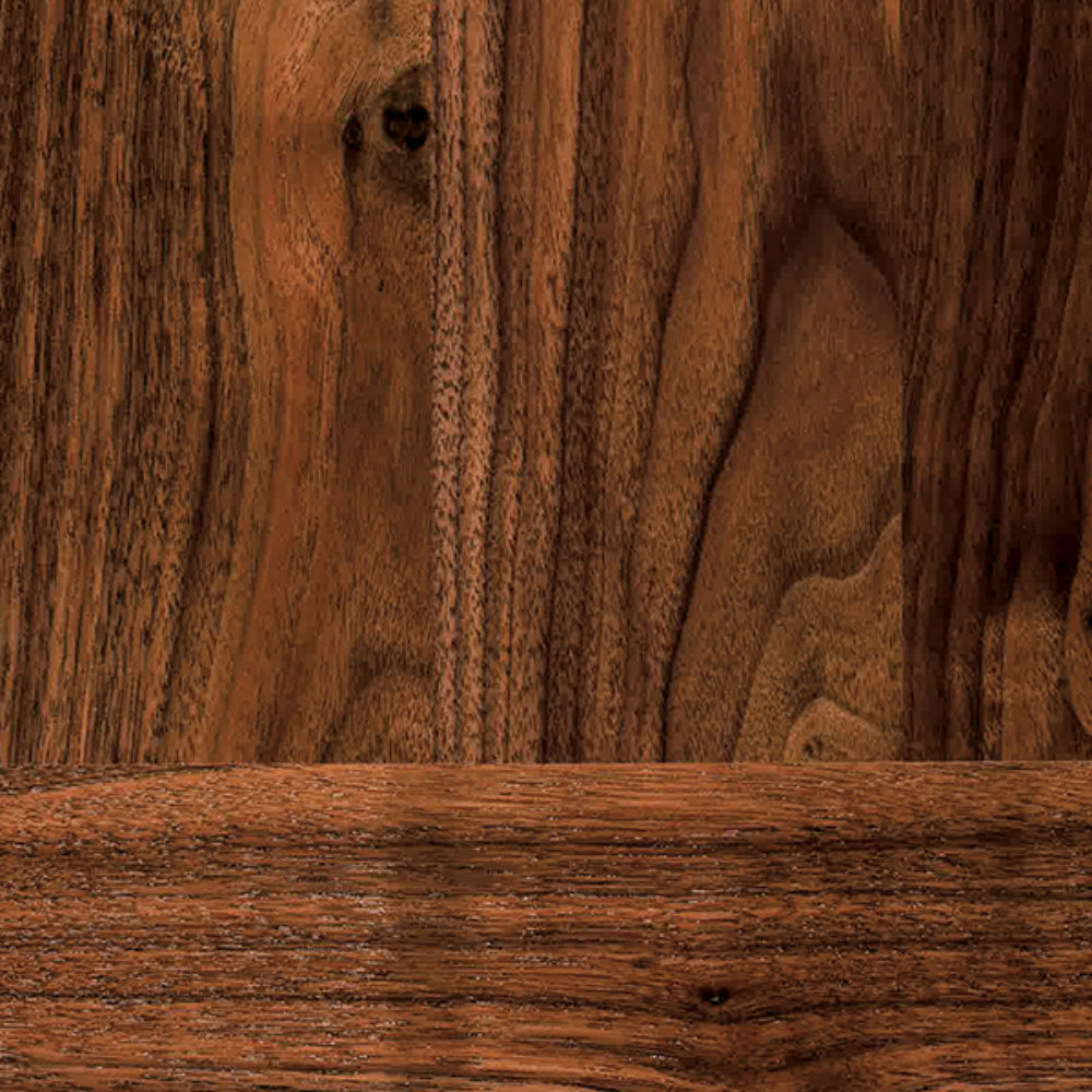 Wood squares black walnut