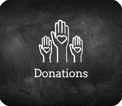 Chalkboard donations