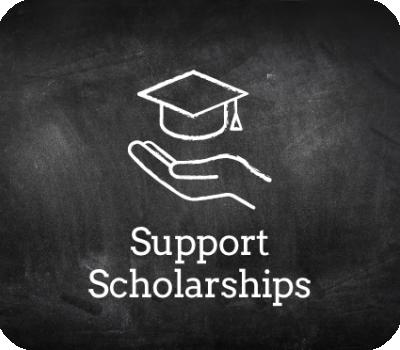 Chalkboard support scholarships