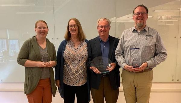 Alde virtual award recipients