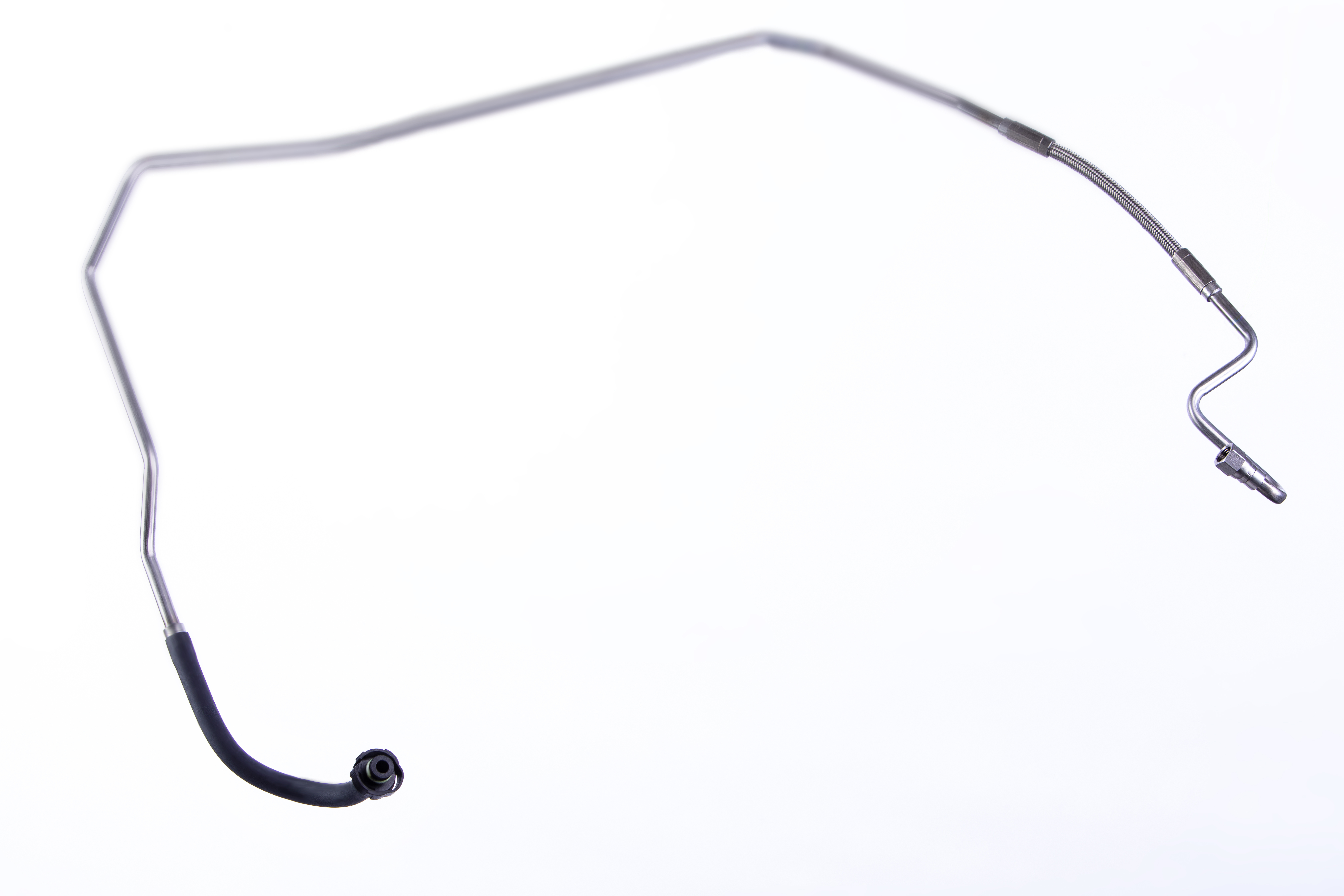 Bild040 Fuel line with steel tube