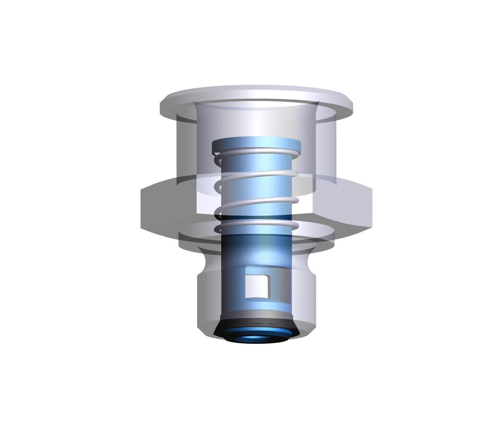 Ventil 02 Flow stop valve