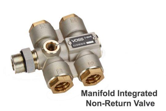 Manifold Integrated Non Return Valve Text