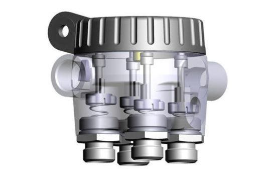 Ventil 04 multi port valve 2